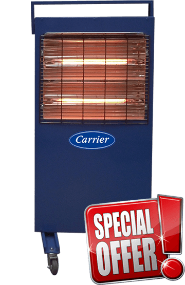 10% off our entire infrared heater range